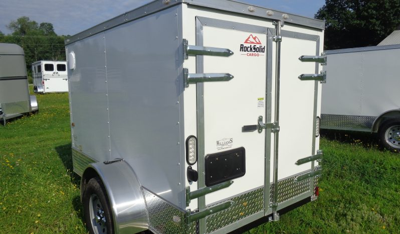 2019 Rock Solid 5×8 Cargo Trailer full