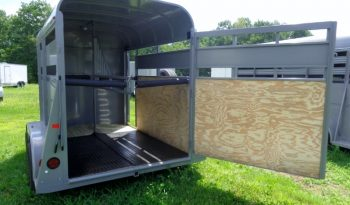 2019 Valley Extra Tall 11′ Stock Combo Trailer full