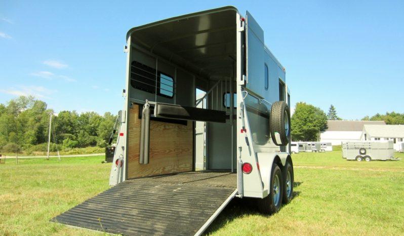 2022 Valley Extra Tall Enclosed 2 Horse Trailer full