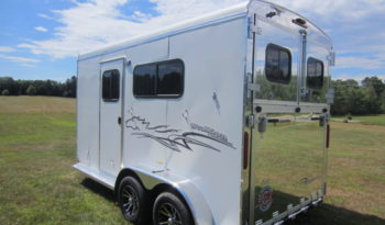 2021 Homesteader 2 Horse Trailer (Draft Size) full