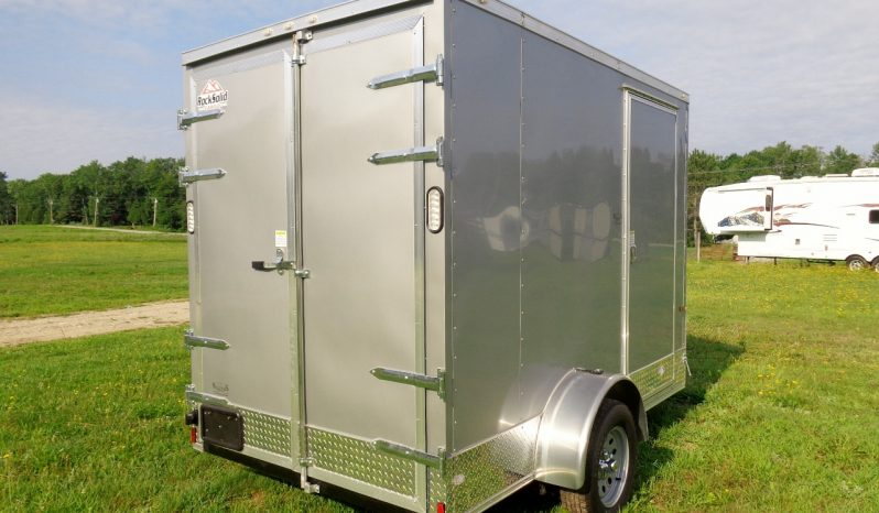 2021 Rock Solid 6×10 Cargo Trailer w/ Extra Height full