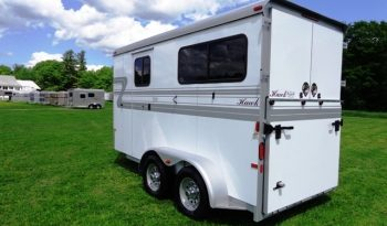 2019 Hawk 2 Horse Trailer full