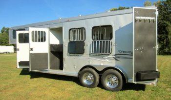2021 Homesteader 3 Horse Trailer (Draft Size) full