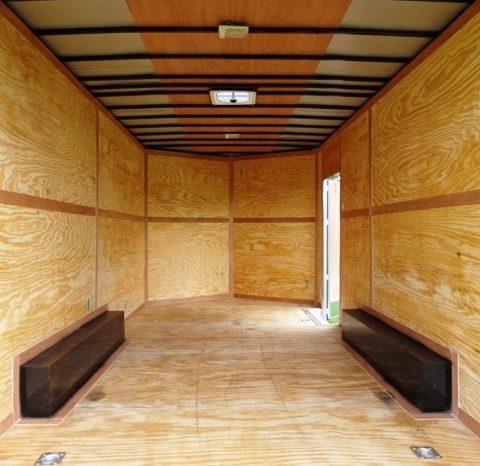 2021 Rock Solid 8.5×16 Cargo Trailer w/7′ Interior Height full
