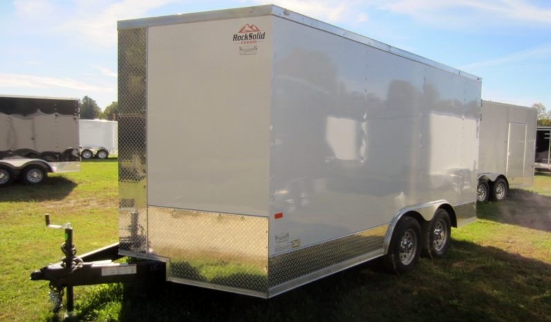 2019 Rock Solid 8.5×14 Cargo Trailer w/ Extra Height full