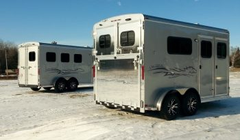 2021 Homesteader 2 Horse Trailer (Draft Size) full