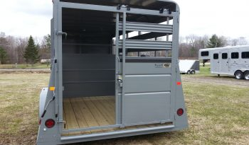 2019 Valley 16′ Stock Trailer X-Wide full