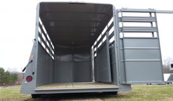 2020 Valley 16′ Stock Trailer X-Wide full