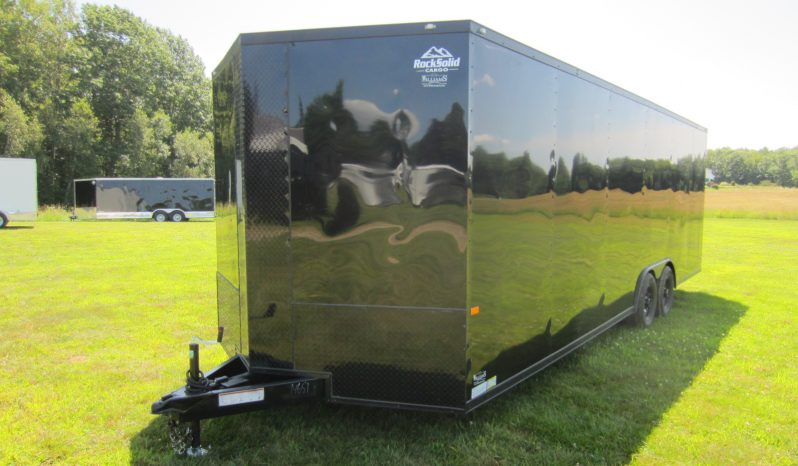 2019 Rock Solid 8.5×24 Cargo Trailer w/7'0″ Interior Height full