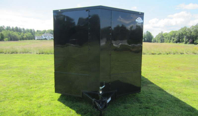 2022 Rock Solid Blackout 8.5×16 Cargo Trailer 7′ Tall full