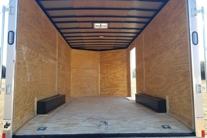 2022 Rock Solid 8.5×16 Cargo Trailer 7′ Interior Height full