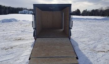 2022 Rock Solid 7×14 Charcoal Blackout Cargo Trailer full