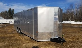 2022 Rock Solid 8.5×24 Cargo Trailer w/7'0″ Interior Height and Additional Side Door full