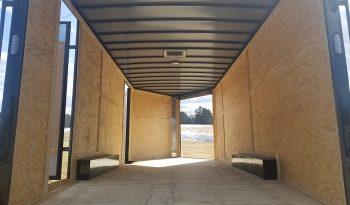 2022 Rock Solid 8.5×20 Multi-Purpose Cargo Trailer 7′ Tall 2 Side Doors full