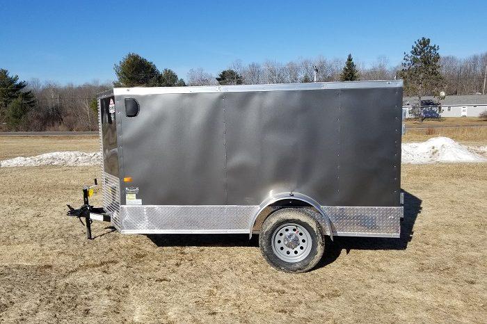 2021 Rock Solid 5×10 Cargo Trailer full