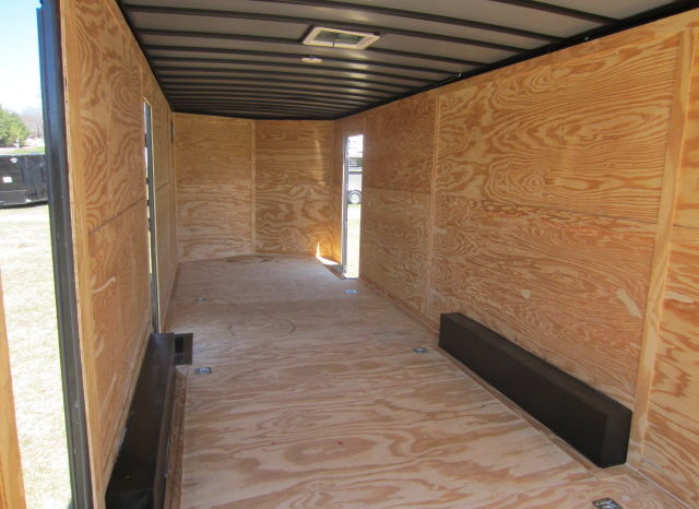 2021 Rock Solid 8.5×28 Cargo Trailer w/7'6″ Interior Height 7K Axles full