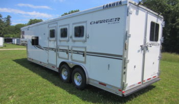 2013 Lakota Charger 3 Horse Living Quarters full