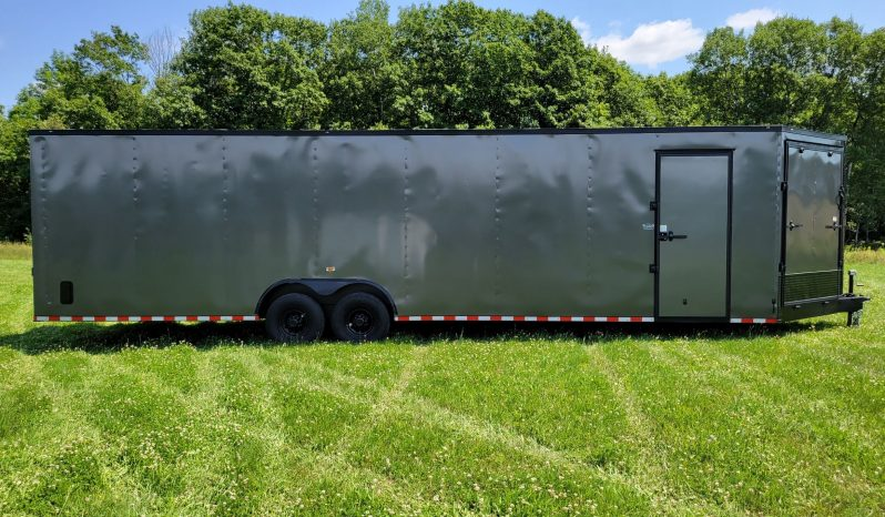 2022 Rock Solid 8.5×32 Multi-Purpose Cargo Trailer 7'6″ Tall 7K Axles full